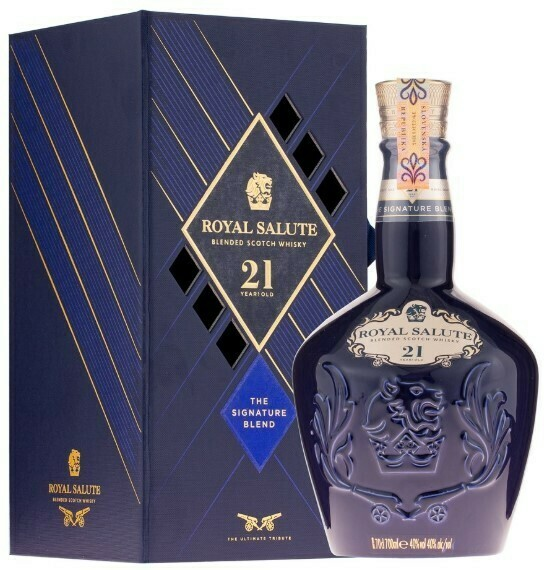 Chivas Regal Salute 21y The Sapphire Flagon 0,7l 40%