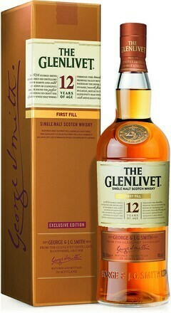 The Glenlivet 12 years First Fill 0,7l 40%
