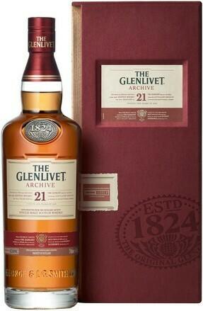 The Glenlivet 21 years 0,7l 43%