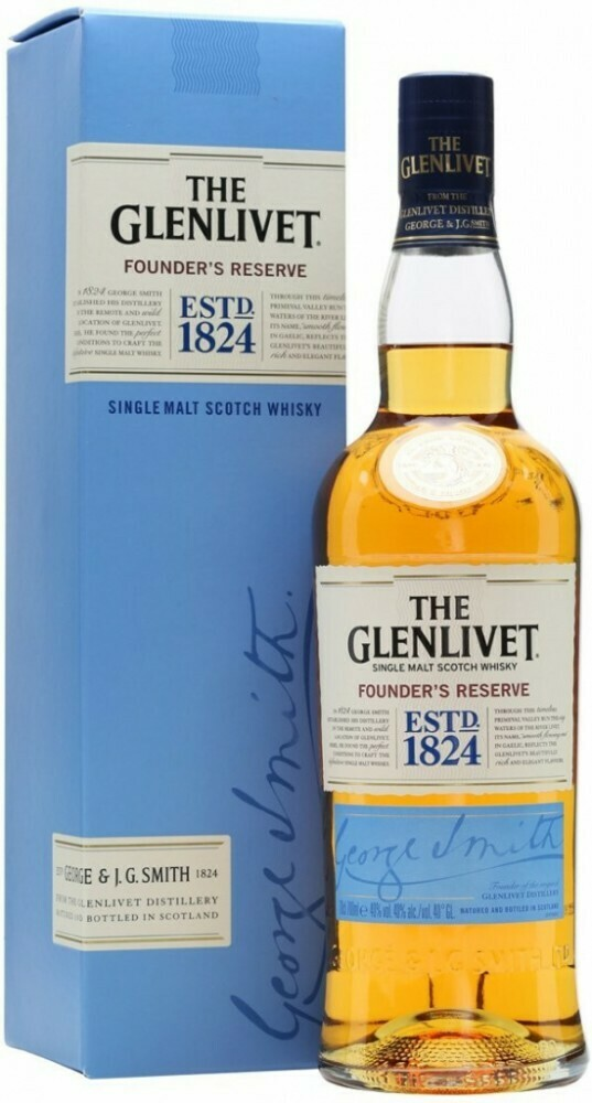 The Glenlivet Founder's Reserve 0,7l 40%