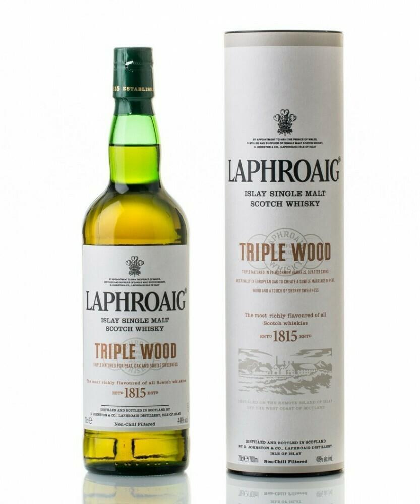 Laphroaig Triple Wood 0,7l 48% DD