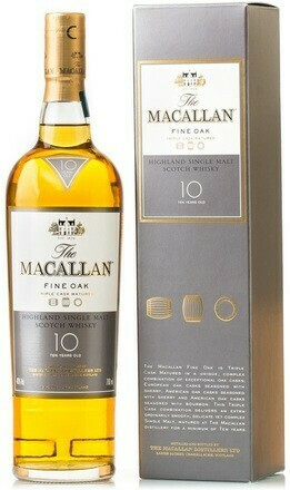 Macallan 10 years Fine Oak 0,7l 40%