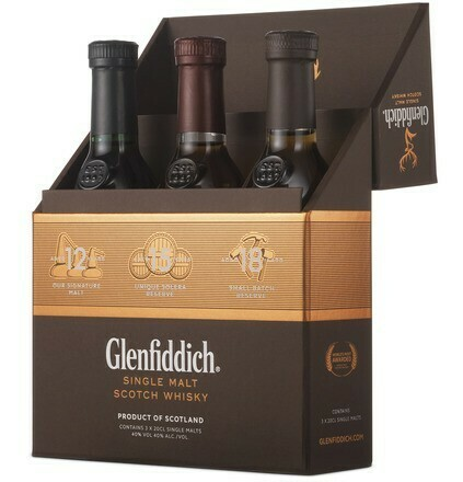 Glenfiddich Tasting Collection 3x0,2l 40%