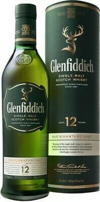 Glenfiddich 12 years 0,7l 40%
