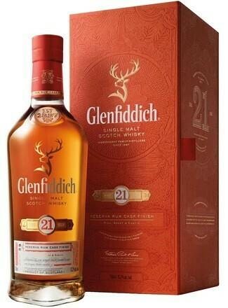 Glenfiddich 21 years Reserva Rum Cask Finish 0,7l 40%