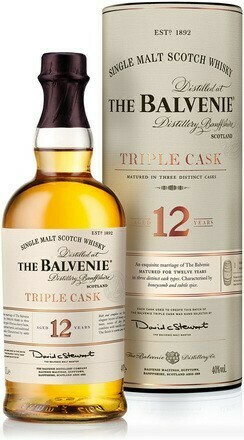 Balvenie 12 years Triple Cask 1l 40%