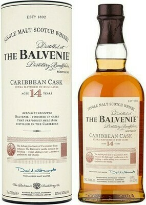 Balvenie 14 years Caribbean Cask 0,7l 43%