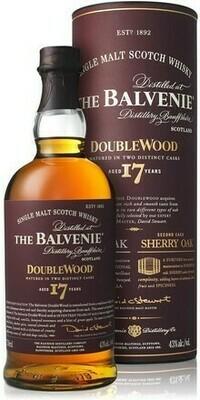 Balvenie 17 years Double Wood 0,7l 43%
