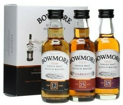 Bowmore Mini Set 3x0,05l 42%