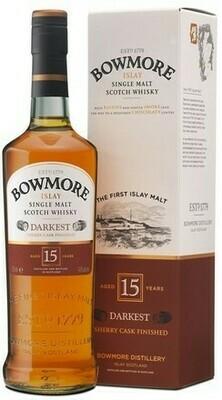 Bowmore 15 years 0,7l 43%