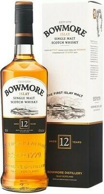 Bowmore 12 years 0,7l 40%