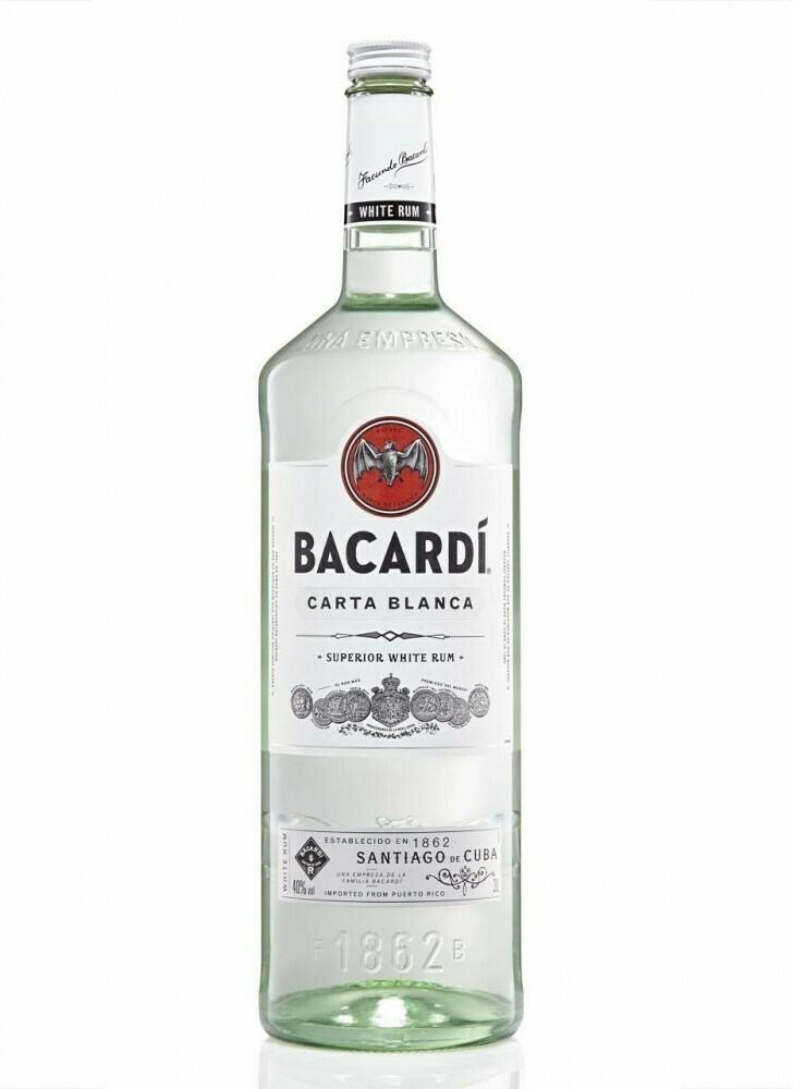 Bacardi Carta Blanca 1l 37,5%