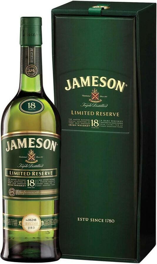 Jameson 18 Years 0,7L 40%