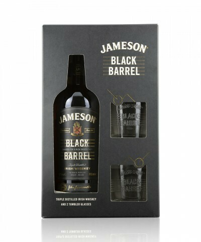 Jameson Black Barrel 0,7l 40% + 2 pohár