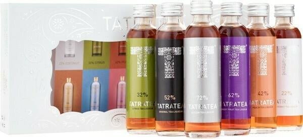 Tatratea Mini Válogatás 6x0,04l 22-72%