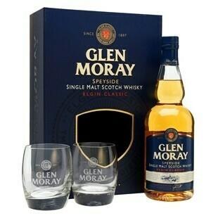 Glen Moray El.Classic Whisky 0,7l 40% + 2 pohár