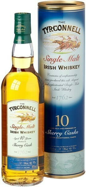 Tyrconnell 10 years Sherry Cask Finish 0,7l 46%