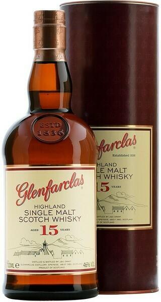 Glenfarclas 15 years 0,7l 46%