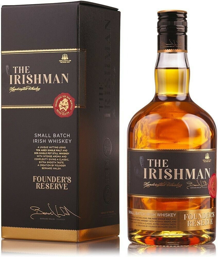 The Irishman Founders Reserve 0,7l 40%