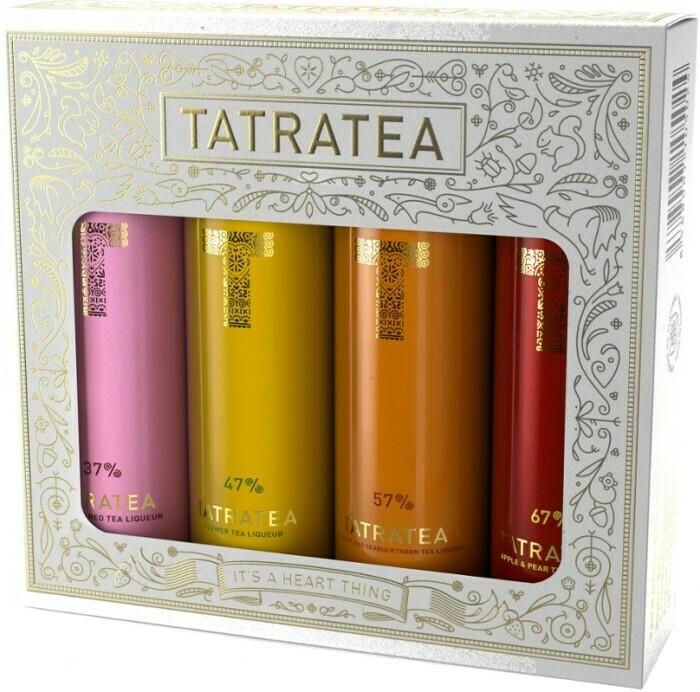 Tatratea Mini Válogatás fehér 4x0,04l 37-67%