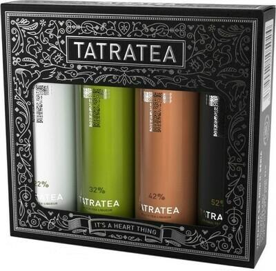 Tatratea Mini Válogatás fekete 4x0,04l 22-52%