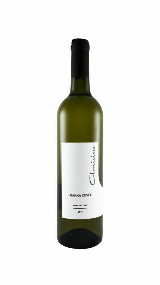 Amicius Leányka Cuvée félédes fehérbor