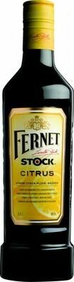 Fernet Stock Citrus 0,5l 27%