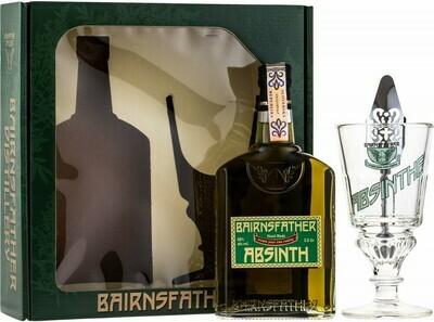 Bairnsfather Absinth 0,5l 55% + pohár + kanál