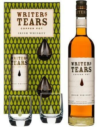 Writer's Tears Copper Pot 0,7l 40% + 2 pohár