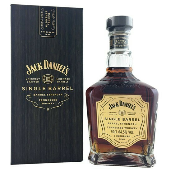 Jack Daniel's Single Barrel Strenght 0,7l 64,5%