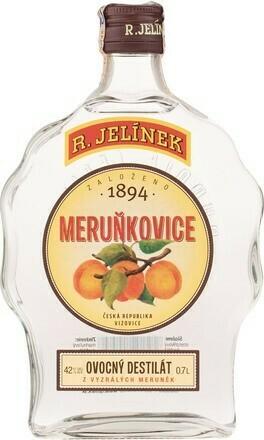 Rudolf Jelínek Sárgabarack pálinka0,7l 42%