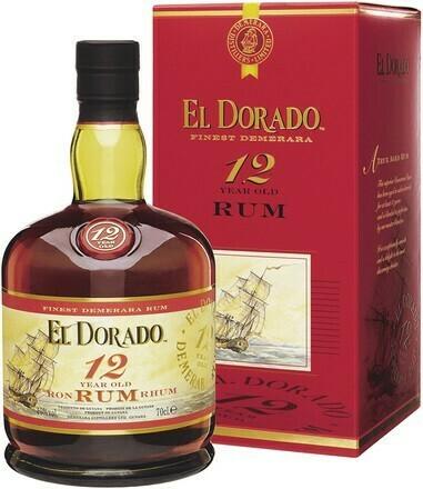 El Dorado 12 years 0,7l 40%