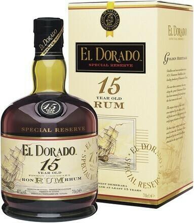 El Dorado 15 years 0,7l 43%