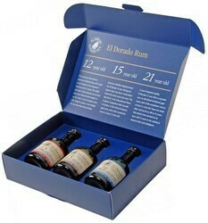 El Dorado Rum Discovery Pack 3x0,05L 42%