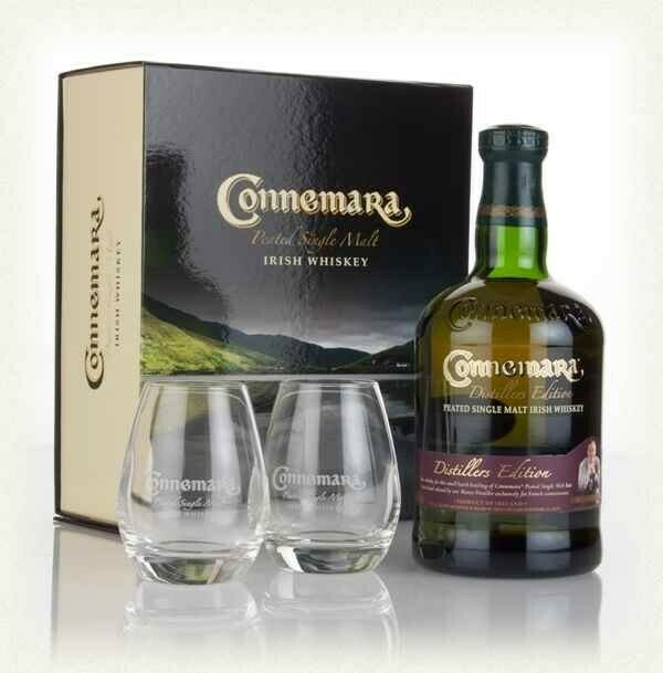Connemara Distillers Edition 0,7l 40% GB + 2 pohár