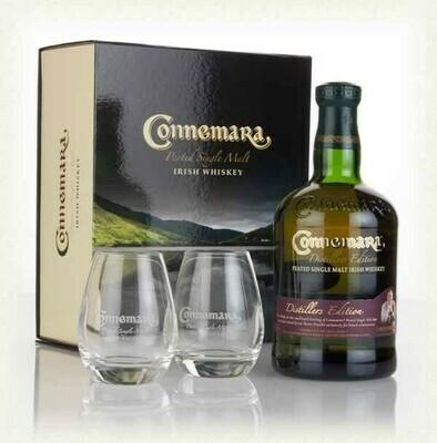 Connemara Distillers Edition 0,7l 40% GB + 2 pohár