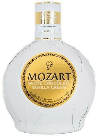 Mozart White Chocolate Vanilla Cream 0,5l 15%