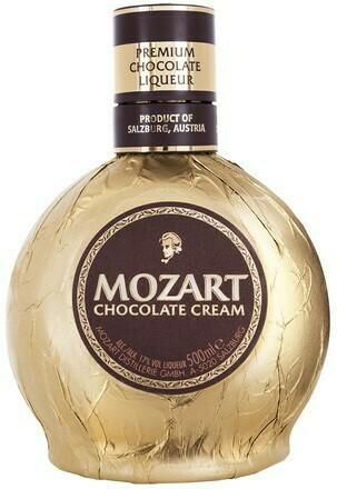 Mozart Chocolate Cream 0,5l 17%