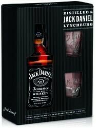 Jack Daniel's 0,7l 40% GB + 2 pohár