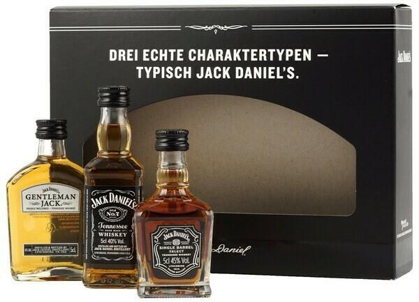Jack Daniel's Mini Set 3x0,05l 41-67%