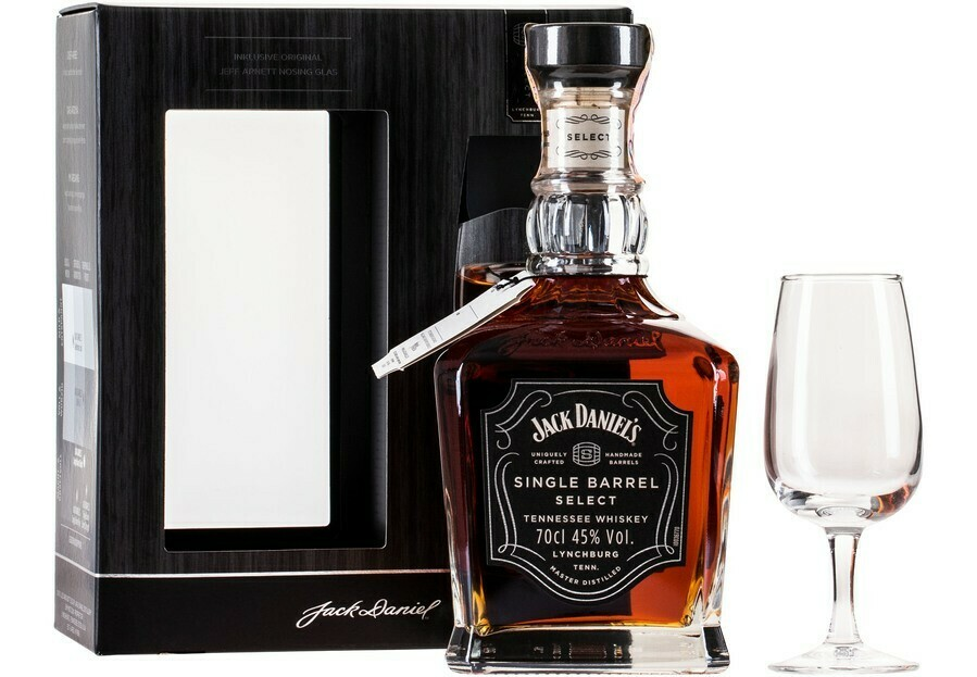 Jack Daniel's Single Barrel 0,7l 45% + 1 pohár