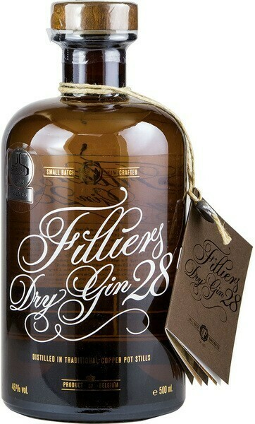 Filliers Original Dry Gin 0,5l 46%