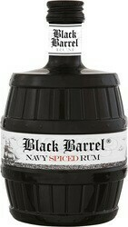 A.H. Riise Black Barrel Navy Spiced 0,7l 40%