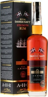 A.H. Riise Royal Danish Navy Strenght 0,7l 55% GB