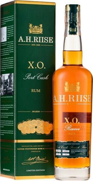 A.H.Riise XO Port Cask 0,7l 45%