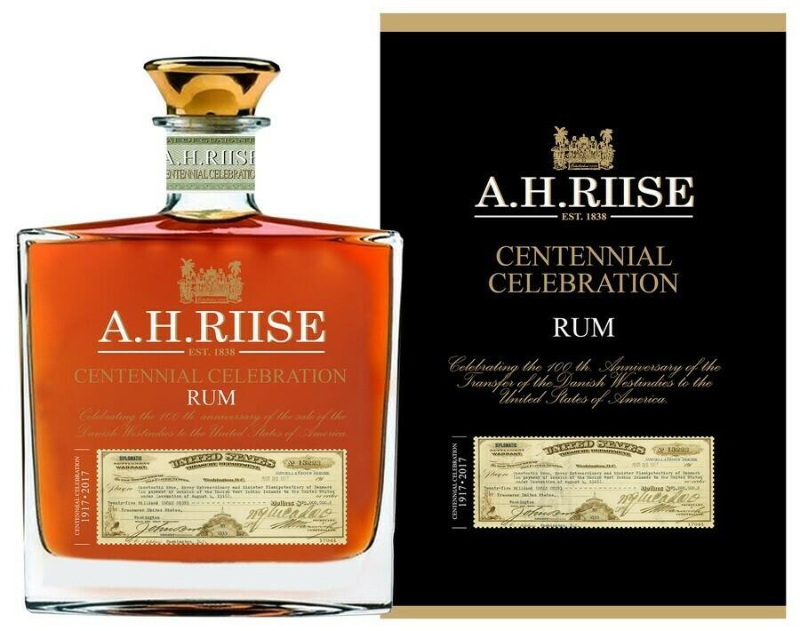 A.H. Riise Centennial Celebration 0,7l 45% GB