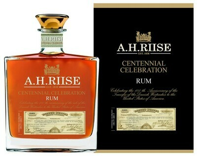 A.H. Riise Centennial Celebration 0,7l 45% GB