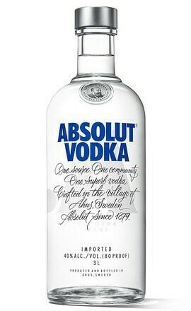 Absolut Vodka 3l 40%