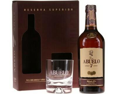 Abuelo Anejo 7 years 0,7l 40% + 1 pohár