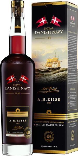 A.H. Riise Royal Danish Navy Rum 0,7l 40% GB